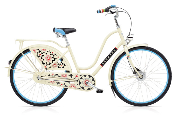 Amsterdam Bloom 3i LADIES/CREAM/3-SPEED