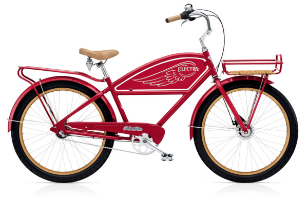 Cruiser Attitude Delivery 3i MEN'S/RED/3-SPEED