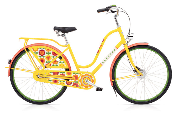 Amsterdam Forget-Me-Not 3i LADIES/YELLOW/3-SPEED