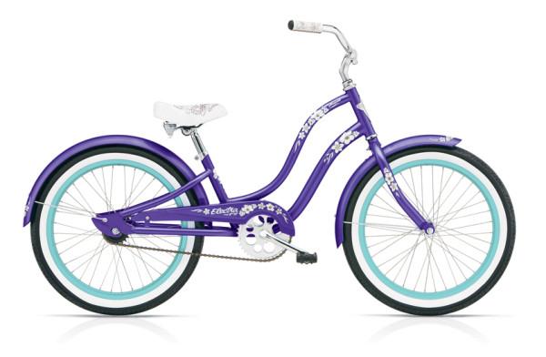 Hawaii Kids 1 (20»wheels) GIRLS/PURPLE METALLIC/1-SPEED