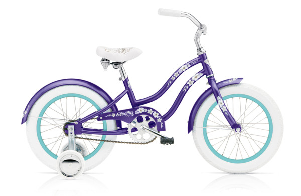 "Hawaii Kids 1 (16""wheels) GIRLS/PURPLE METALLIC/1-SPEED"