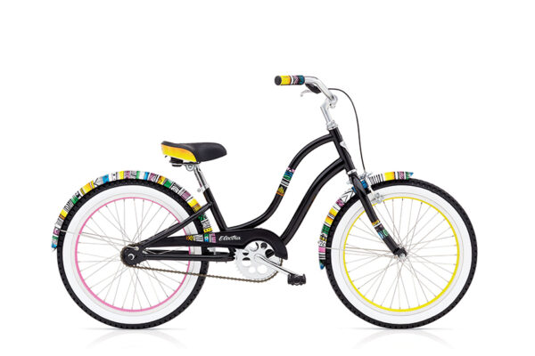 "SAVANNAH KIDS 1  3i (20"" WHEELS) GIRLS BLACK low"