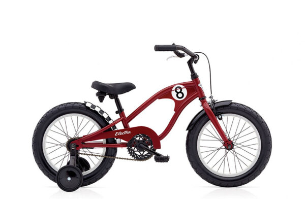 "STRAIGHT 8 KIDS 1 (16"" WHEELS) BOYS RED low"