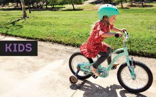 Laste jalgrattad