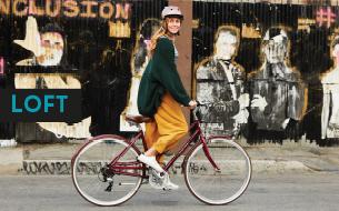 Loft kollektsiooni jalgrattad