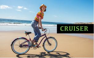 Cruiseri kollektsiooni jalgrattad